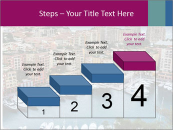 Aerial View on Fontvieille PowerPoint Templates - Slide 64