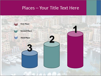 Aerial View on Fontvieille PowerPoint Templates - Slide 65