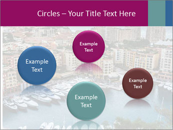 Aerial View on Fontvieille PowerPoint Templates - Slide 77