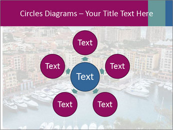Aerial View on Fontvieille PowerPoint Templates - Slide 78