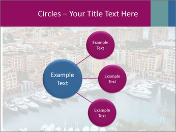Aerial View on Fontvieille PowerPoint Templates - Slide 79