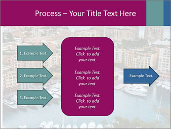 Aerial View on Fontvieille PowerPoint Templates - Slide 85