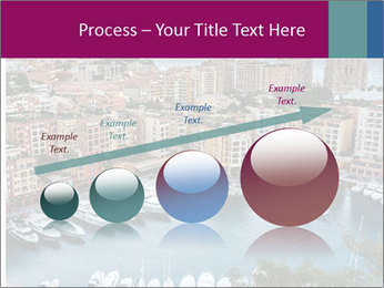 Aerial View on Fontvieille PowerPoint Templates - Slide 87