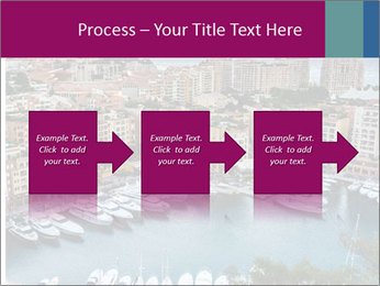 Aerial View on Fontvieille PowerPoint Templates - Slide 88