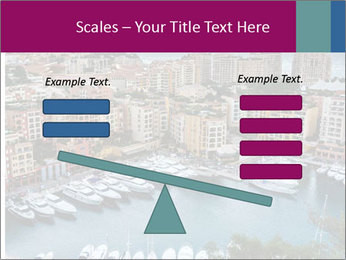 Aerial View on Fontvieille PowerPoint Templates - Slide 89