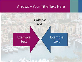 Aerial View on Fontvieille PowerPoint Templates - Slide 90
