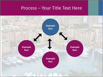 Aerial View on Fontvieille PowerPoint Templates - Slide 91