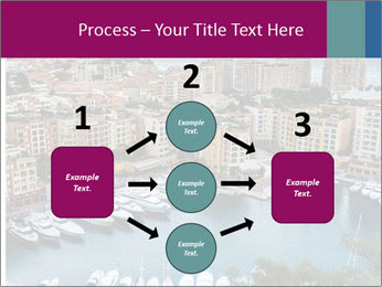 Aerial View on Fontvieille PowerPoint Templates - Slide 92