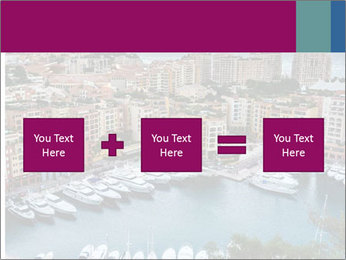 Aerial View on Fontvieille PowerPoint Templates - Slide 95