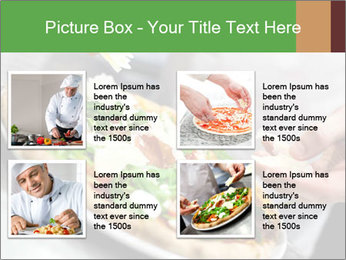 Closeup hand of chef baker PowerPoint Templates - Slide 14