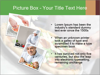 Closeup hand of chef baker PowerPoint Templates - Slide 17