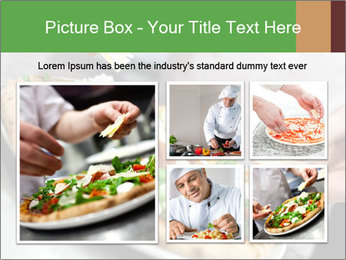 Closeup hand of chef baker PowerPoint Templates - Slide 19