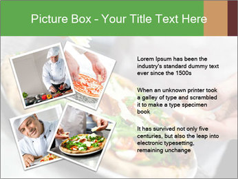 Closeup hand of chef baker PowerPoint Templates - Slide 23