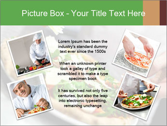Closeup hand of chef baker PowerPoint Templates - Slide 24
