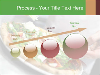 Closeup hand of chef baker PowerPoint Templates - Slide 87