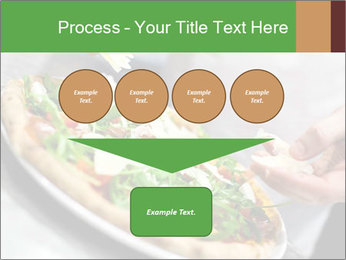 Closeup hand of chef baker PowerPoint Templates - Slide 93