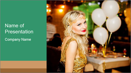 Celebrity PowerPoint Template