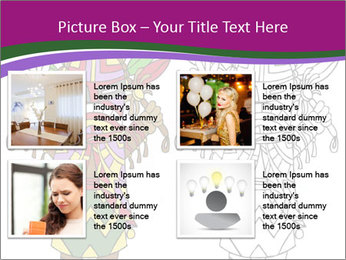 Coloring PowerPoint Template - Slide 14