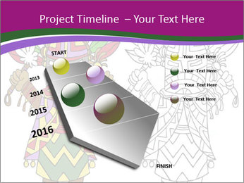 Coloring PowerPoint Template - Slide 26