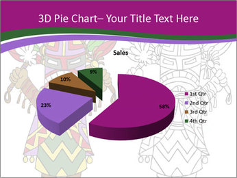 Coloring PowerPoint Template - Slide 35