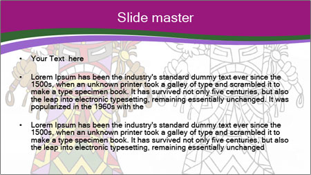 Coloring PowerPoint Template - Slide 2