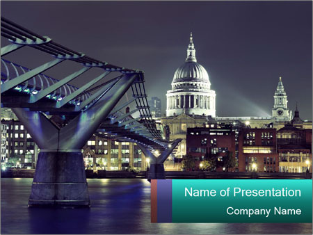 Brige PowerPoint Template