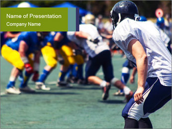 Football PowerPoint Templates - Slide 1