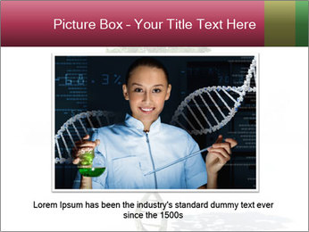 DNA shaped tree with trunks PowerPoint Templates - Slide 16