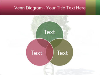 DNA shaped tree with trunks PowerPoint Templates - Slide 33