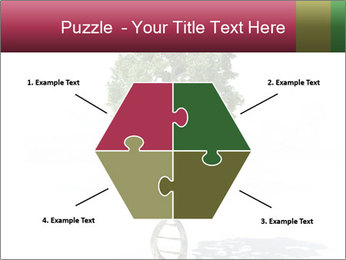 DNA shaped tree with trunks PowerPoint Templates - Slide 40