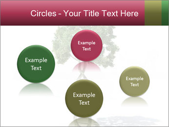 DNA shaped tree with trunks PowerPoint Templates - Slide 77