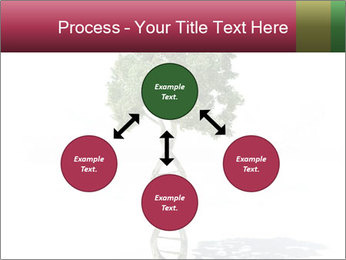 DNA shaped tree with trunks PowerPoint Templates - Slide 91