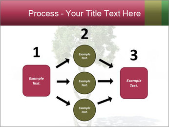 DNA shaped tree with trunks PowerPoint Template - Slide 92