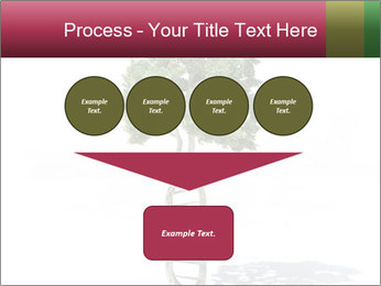 DNA shaped tree with trunks PowerPoint Template - Slide 93