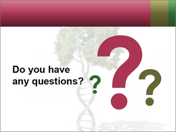 DNA shaped tree with trunks PowerPoint Template - Slide 96