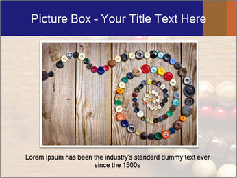 Necklace and beads PowerPoint Template - Slide 15