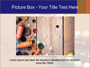 Necklace and beads PowerPoint Template - Slide 16