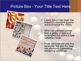 Necklace and beads PowerPoint Templates - Slide 17