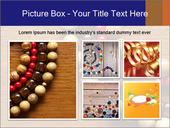 Necklace and beads PowerPoint Templates - Slide 19