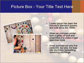 Necklace and beads PowerPoint Templates - Slide 20
