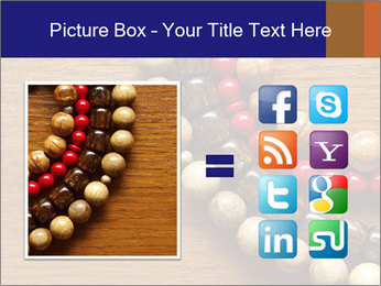 Necklace and beads PowerPoint Templates - Slide 21