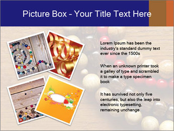 Necklace and beads PowerPoint Template - Slide 23