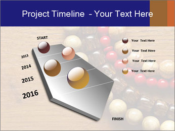 Necklace and beads PowerPoint Template - Slide 26
