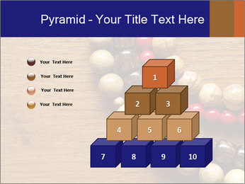 Necklace and beads PowerPoint Templates - Slide 31