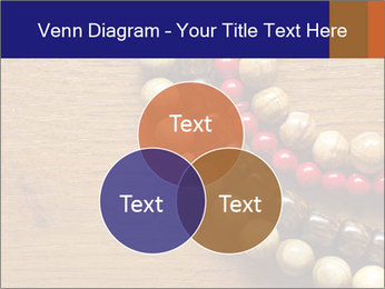 Necklace and beads PowerPoint Template - Slide 33