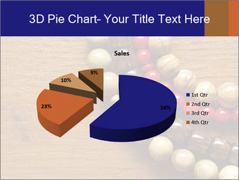 Necklace and beads PowerPoint Template - Slide 35