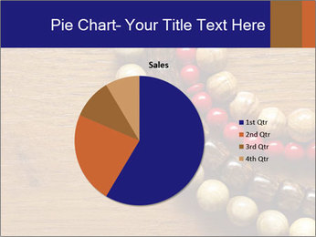 Necklace and beads PowerPoint Templates - Slide 36