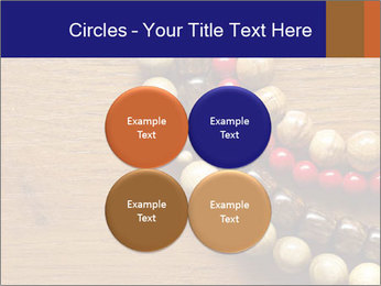 Necklace and beads PowerPoint Template - Slide 38