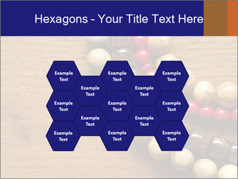 Necklace and beads PowerPoint Templates - Slide 44