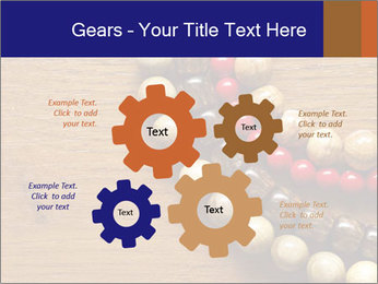Necklace and beads PowerPoint Template - Slide 47